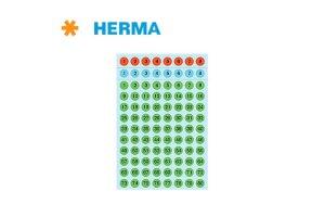 PREPRINTED LABELS HERMA N.4129